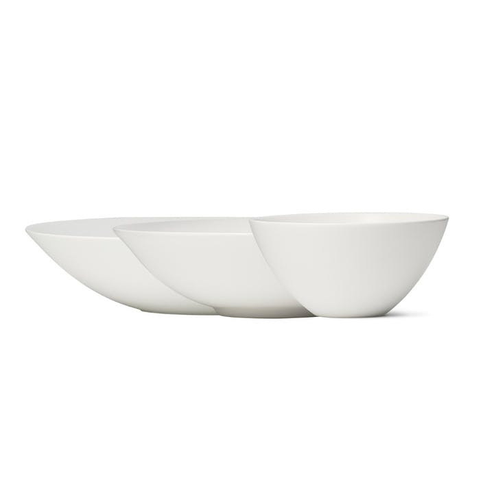 Perfect White Nesting Bowls, Set of 3