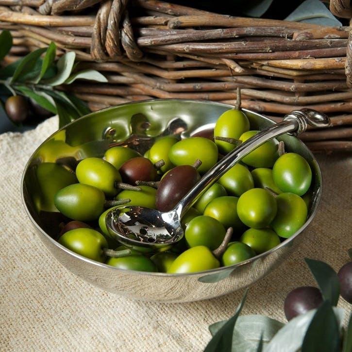 Polished Knot Olive Spoon