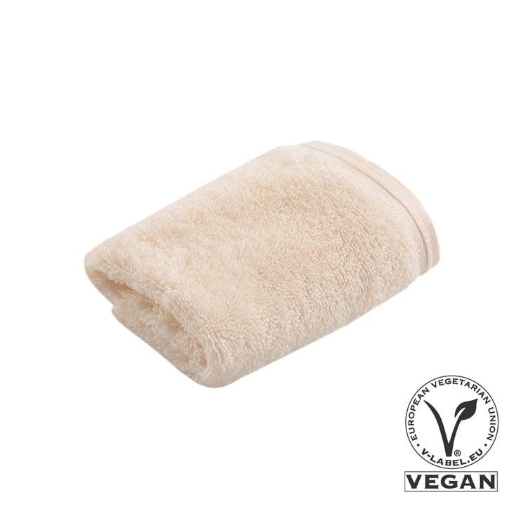 Vegan Life Face Cloth, Ivory