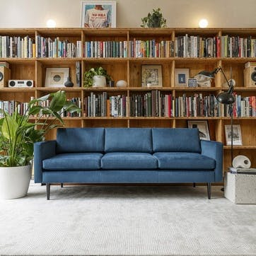 3 Seater Sofa, Model 01, Teal