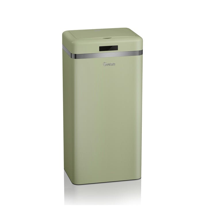 Retro Sensor Bin, Green
