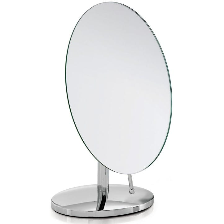 Oblique Pedestal Mirror