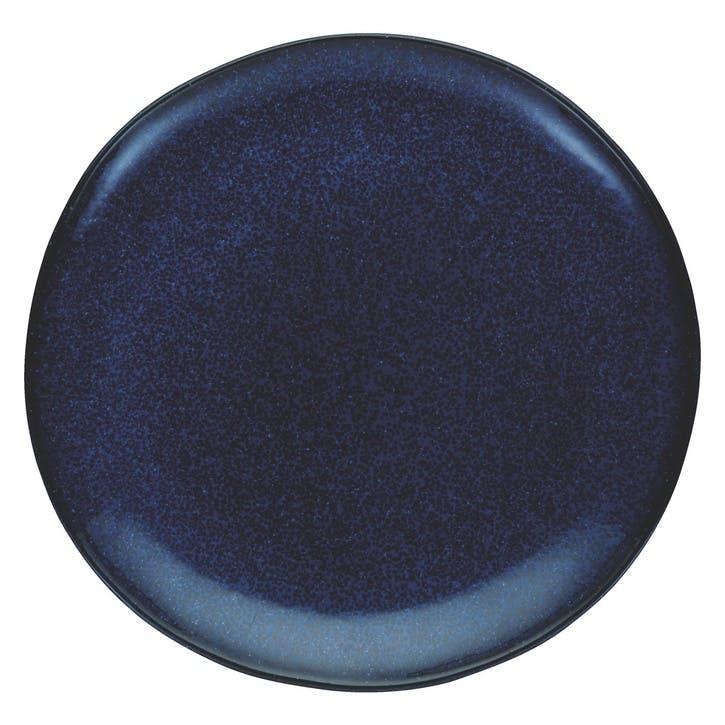 Olmo Side Plate, Dark Blue