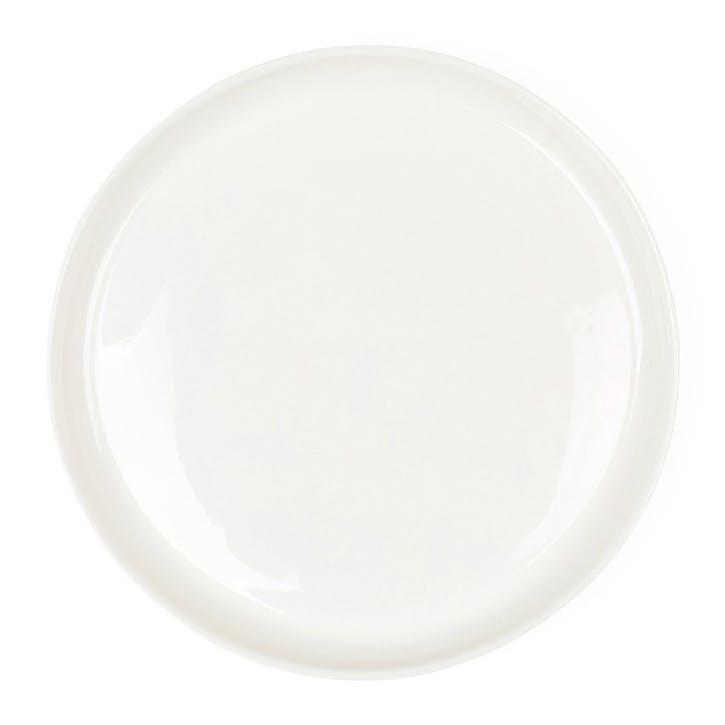 Porcelain Charger Plate, Milk White