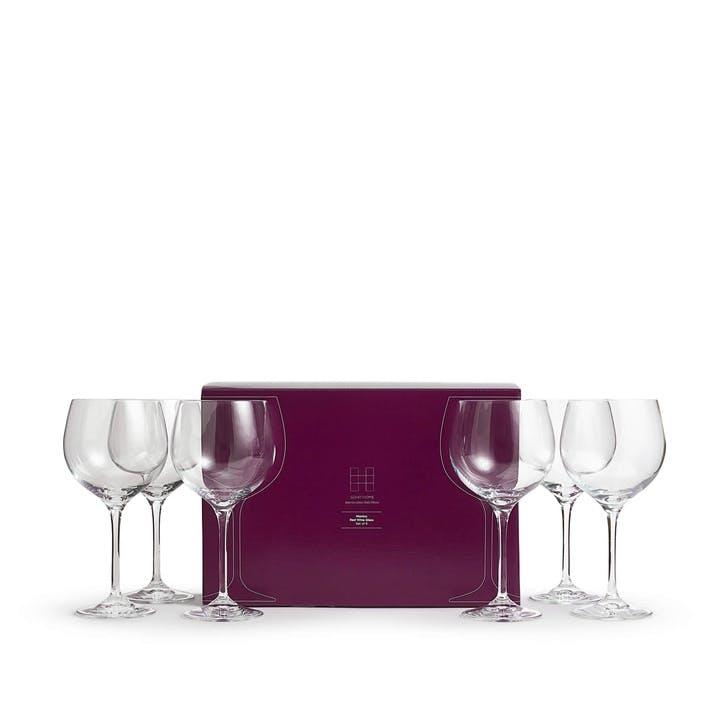 Monico Red Wine Glass, Set of 6