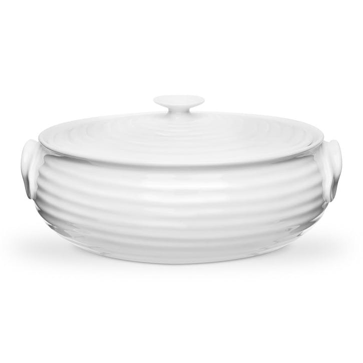 Oval Casserole Dish - Small; White