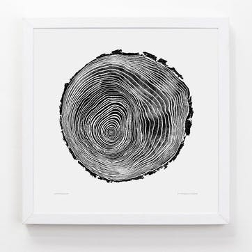 Tree Print Scots Pine, 33cm x 33cm