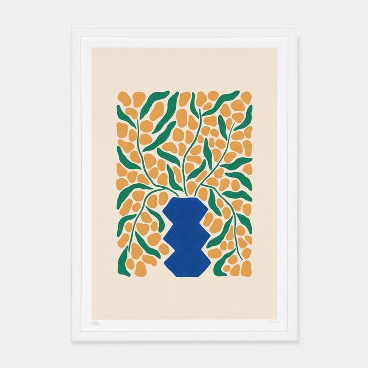 Liv Lee, Wattle Art Print, Unframed, A2