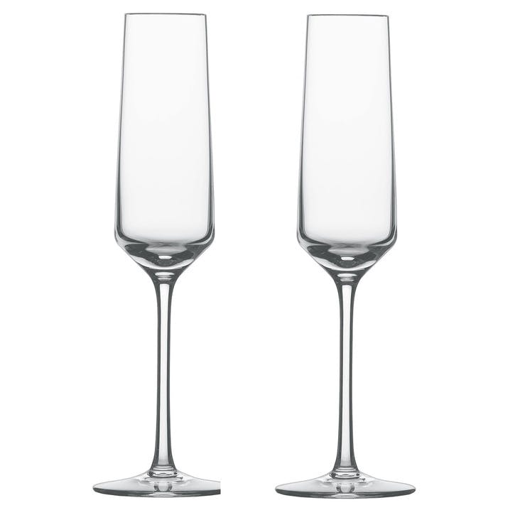 Pure Sparkling Wine Glasses, Set of 6