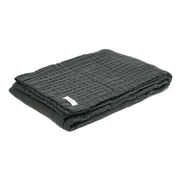 6-Layer Soft Blanket, Dark Grey