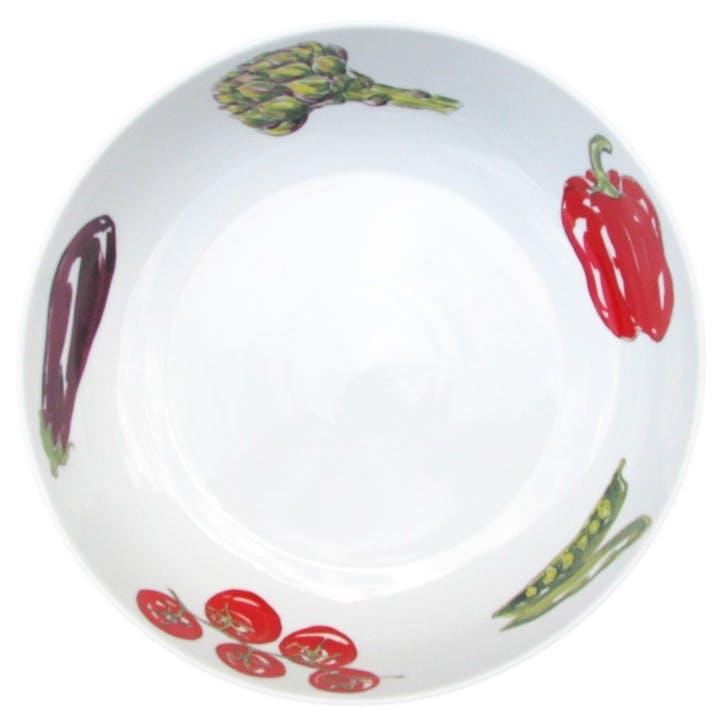 Vegetables Round Bowl - 28cm