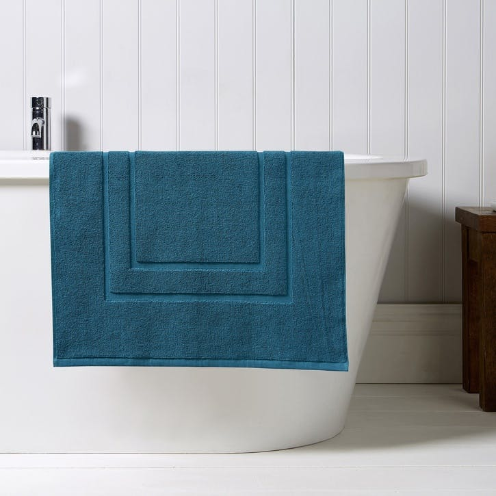 Brixton Shower Mat, Peacock
