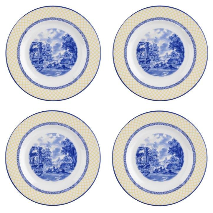 Giallo Salad Plates, Set of 4