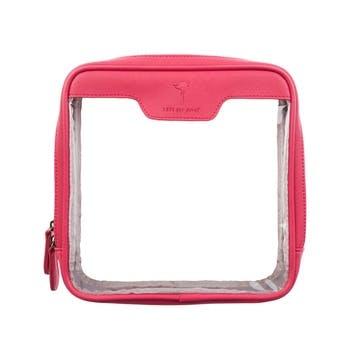 'Flamingos' Travel Wash Bag