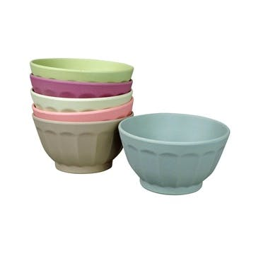 Sweet Fortune Bowls, Set of 6