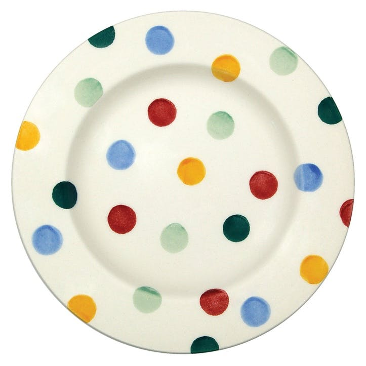 Polka Dot Plate, 17cm