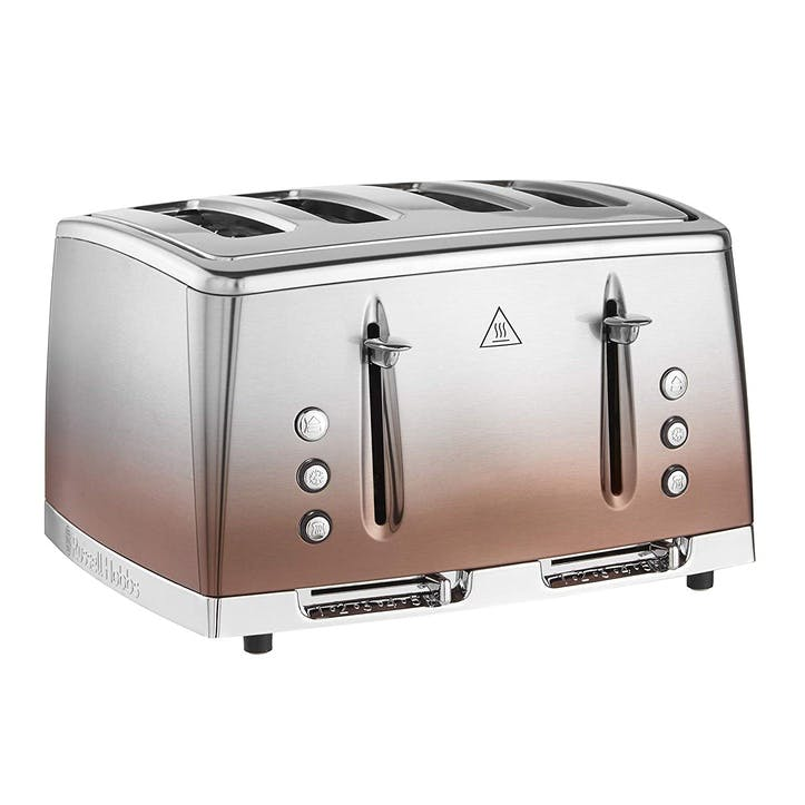 Eclipse 4 Slot Toaster; Copper Sunset