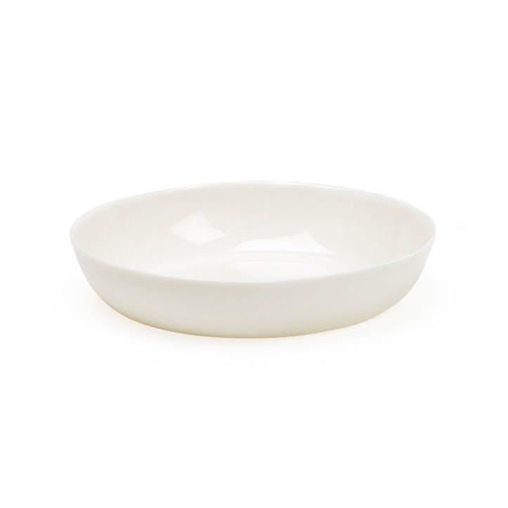 Porcelain Milk White Cereal Bowl, 17cm