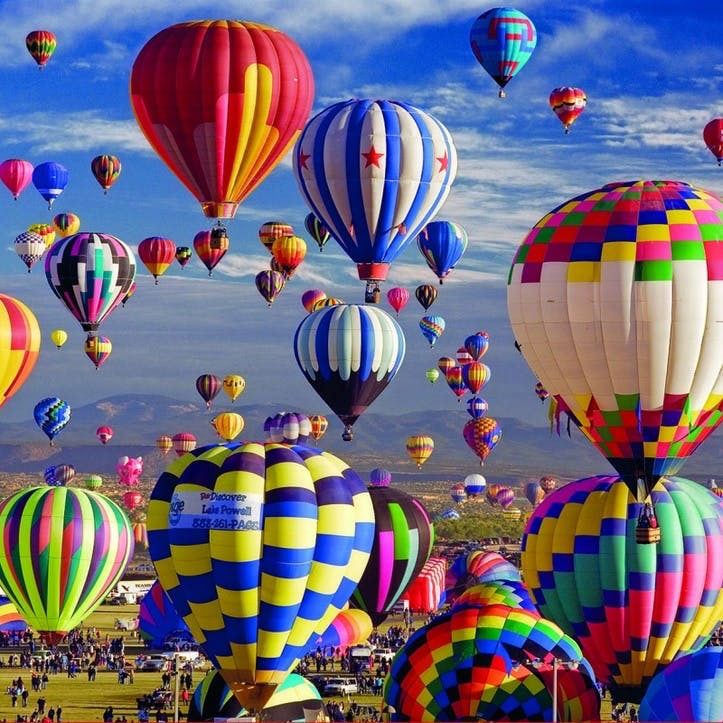 Hot Air Balloons 1500 piece Jigsaw Puzzle