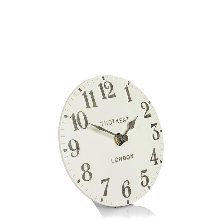 Arabic Mantel Clock, 15cm, Limestone