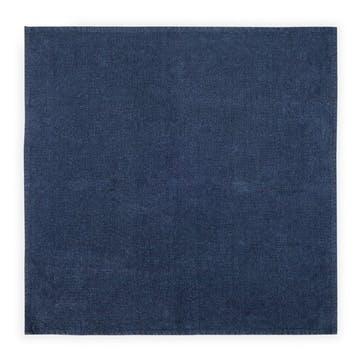Linen Napkin; Midnight Blue