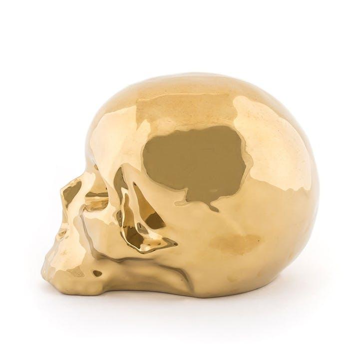 Skull, Memorabilia, Gold