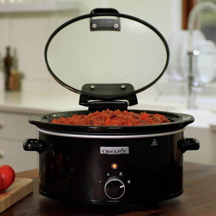 Hinged Lid Slow Cooker