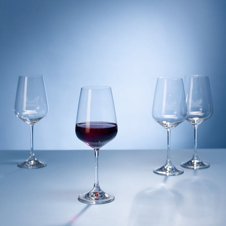 Ovid Red Wine Goblet 215mm Set of 4