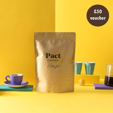 £50 Pact Coffee Gift Voucher