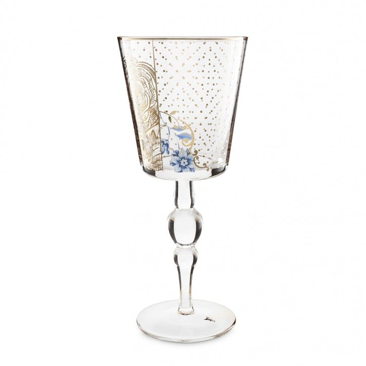 PiP Royal Golden Flower Wine Glass
