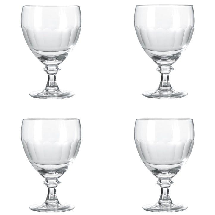 Ranelagh White Wine Goblets, Set of 4