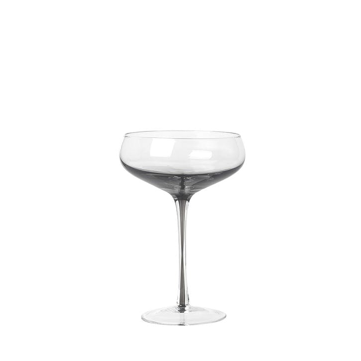 Smoke Cocktail Glass