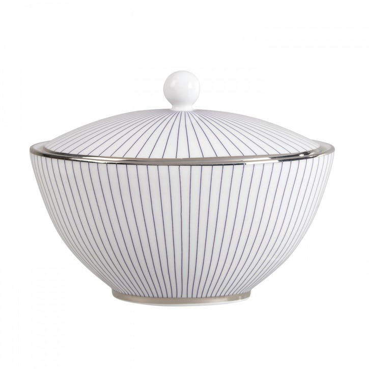 Pin Stripe Sugar Pot