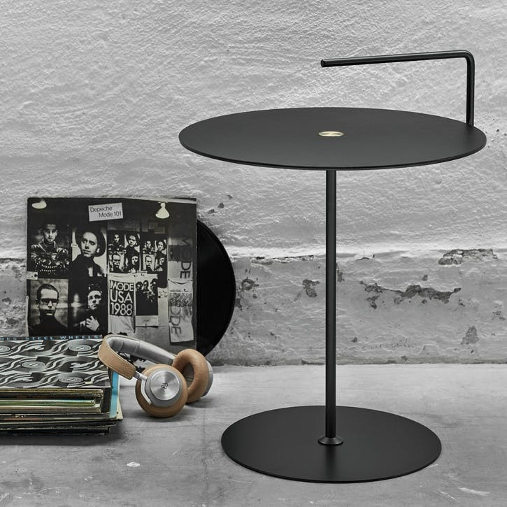 Reversible Side Table, Medium, Anthracite