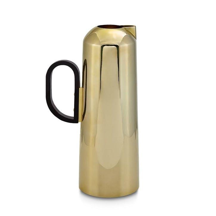Form Jug; Brass