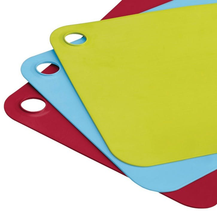 Pop Plus Chopping Mats, Set of Three, Multicolour