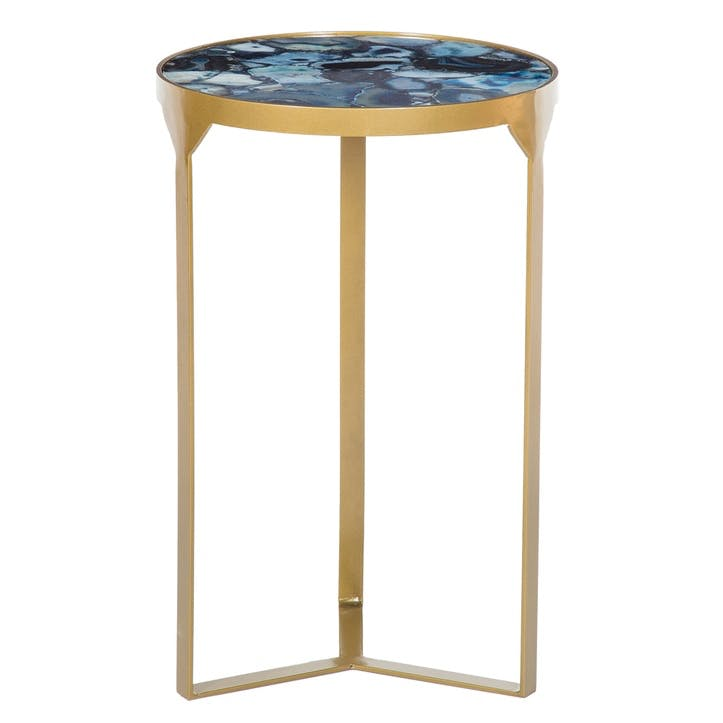 Ida Side Table, Cobalt