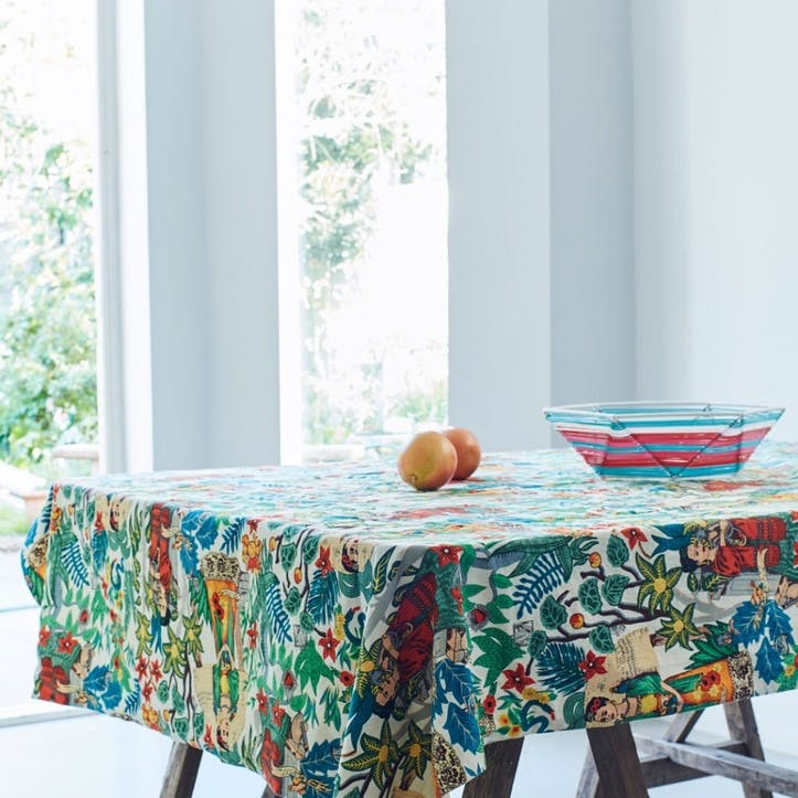 Mexicana Tapestry Print Tablecloth, Rectangular 130x170cm
