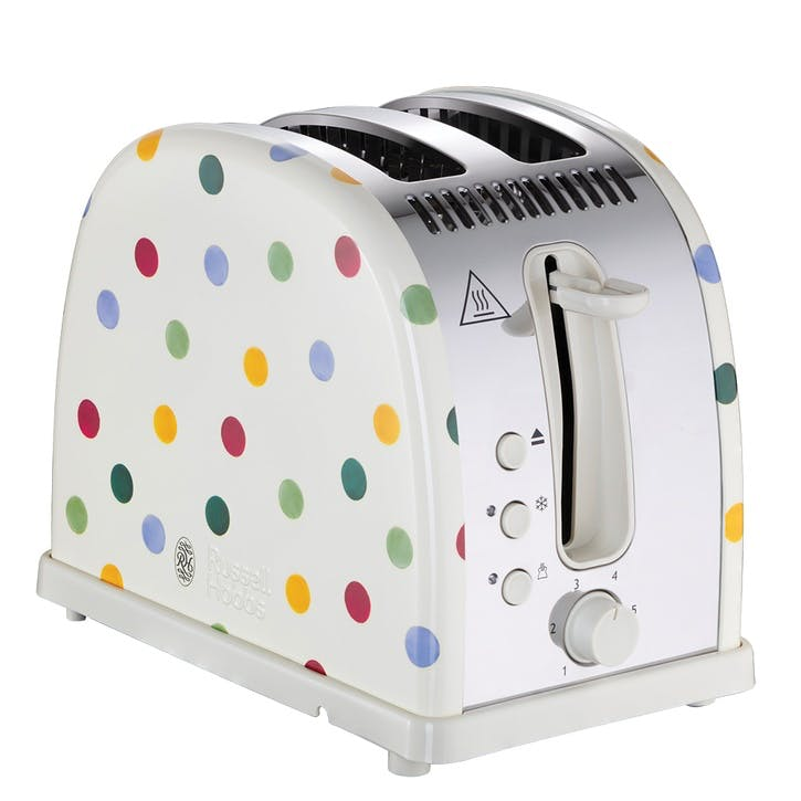 Polka Dot Toaster, 2-Slice