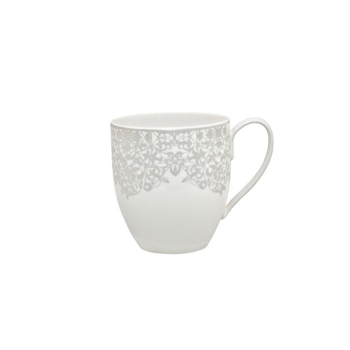 Filigree Silver Large Mug, 440ml