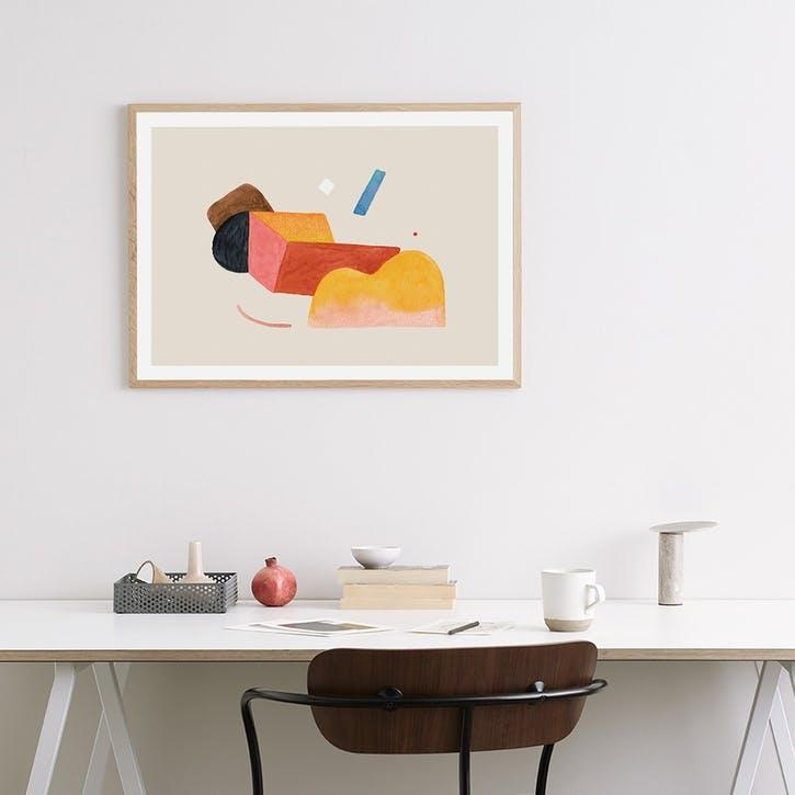 Visual Flow - Wensi Zhai Art Print D50cm x H70cm