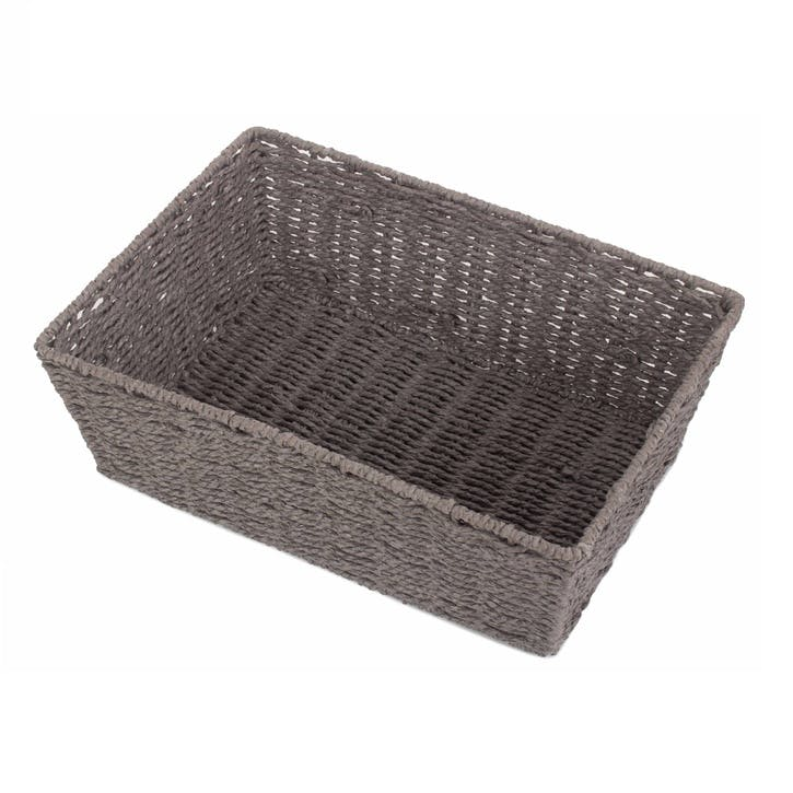 Extra Large Grey Paper Rope Tray