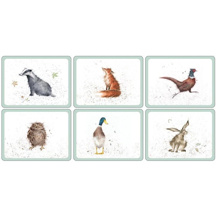 Wrendale Placemats, Set of 6