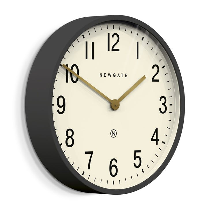 Mr Edwards Wall Clock, Dia. 45cm, Painted Metal