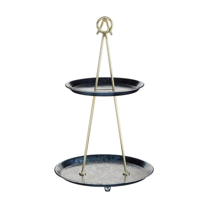 Two Tiered Serving Stand