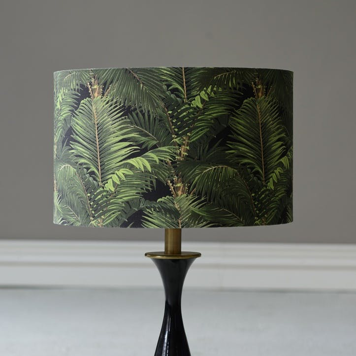 Jardin Tropical Drum Lampshade, Small