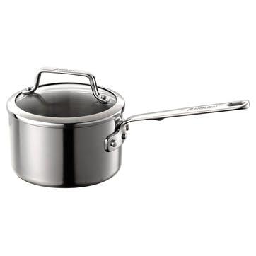 Authority Stainless Steel Saucepan - 16cm