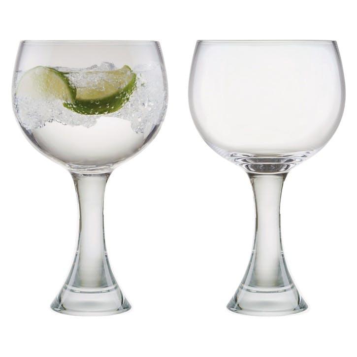 Manhattan Set of 2 Gin Glasses