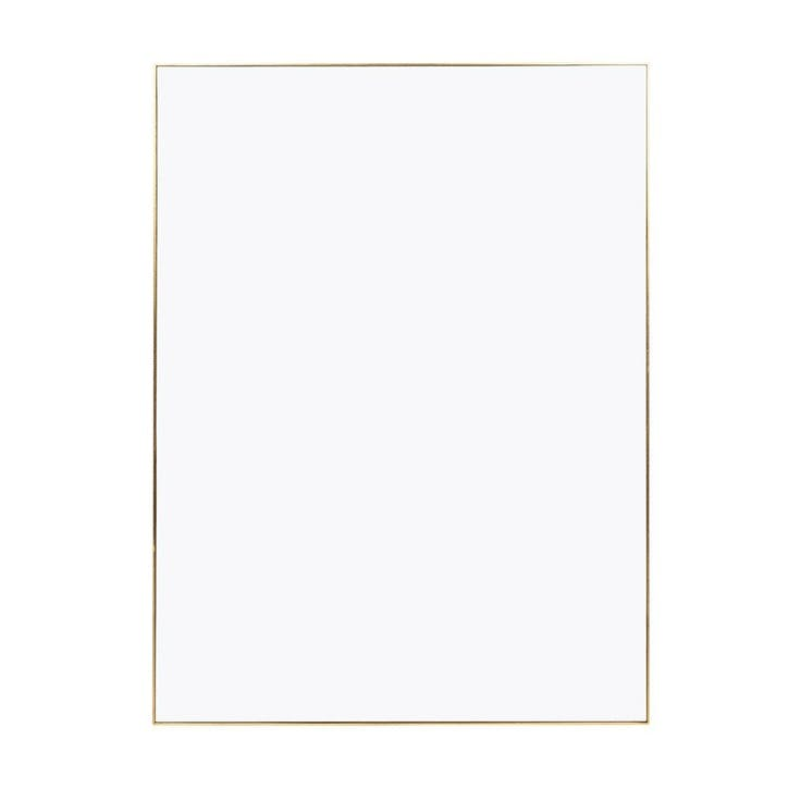 Fine Edge Rectangular Mirror, 100cm, Gold