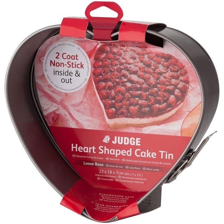 Heart Shaped Springform Cake Tin